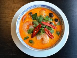 Tom Yam Gung (Crevetten)