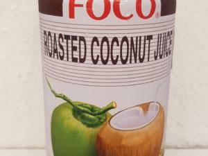 Gerösteter Kokosnusssaft 0.33 l