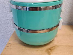 Lunchbox türkies nach vorhander Farbe